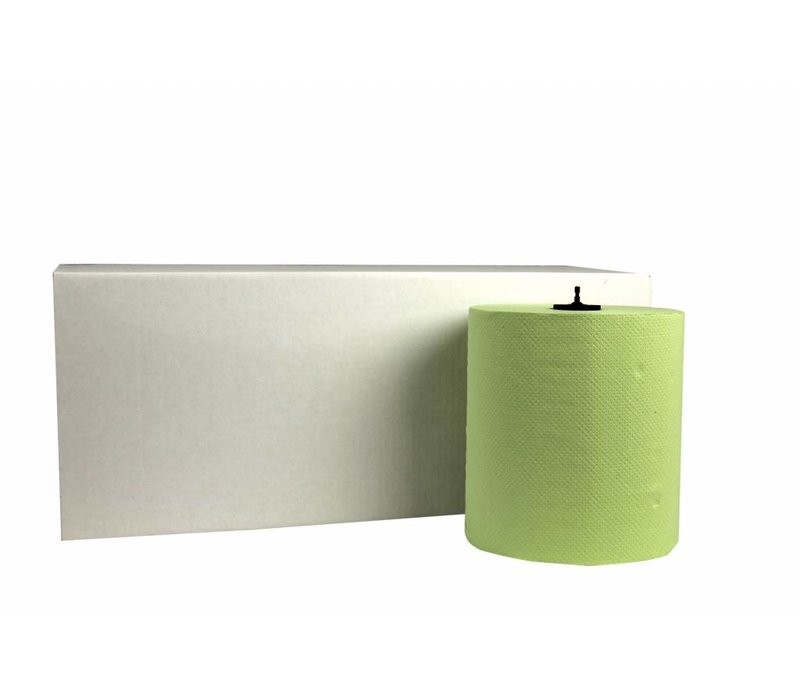 XXLselect HPG towel | Matic Green | 2 layer | 21cm x 150m Rolls | (Including pallets) Price per 6 rolls
