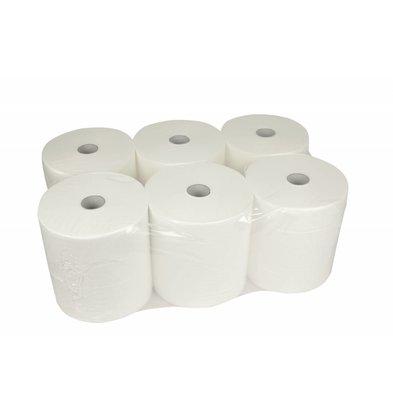 XXLselect HPG Handtuch | Cont Rollmatic | 2-Schicht | 20cm x 140 Meter auf Rolle | (Einschließlich Paletten) Preis pro 6 Rollen