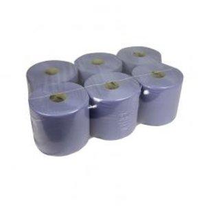 XXLselect Handtuch Midi | Blau | Erste Schicht | 20cm x 300m auf einer Rolle | (auch Paletten) Preis pro 6 Rollen