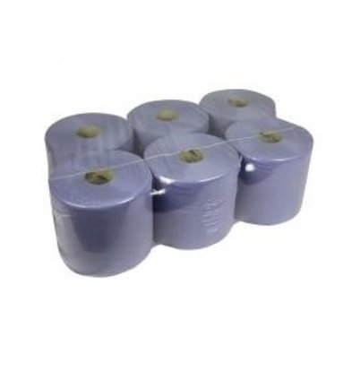 XXLselect Towel roll Midi | blue | 1 layer | 20cm x 300m on a roll | (Including pallets) Price per 6 rolls