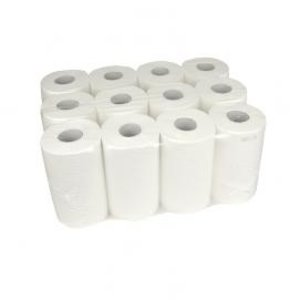 XXLselect Mini towel | Cellulose | 2 layer | 20cm 12 x 72 meter roll 55 packages per pallet