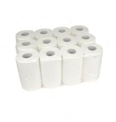 XXLselect Mini Handtuch   Cellulose   2-Schicht   20cm 12 x 72 Meter-Rolle 55 Pakete pro Palette