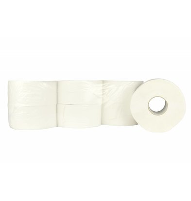 XXLselect Toilet paper Mini Jumbo | Cellulose | (also Pallets) Price per 12 x 180 m | ECO-Label