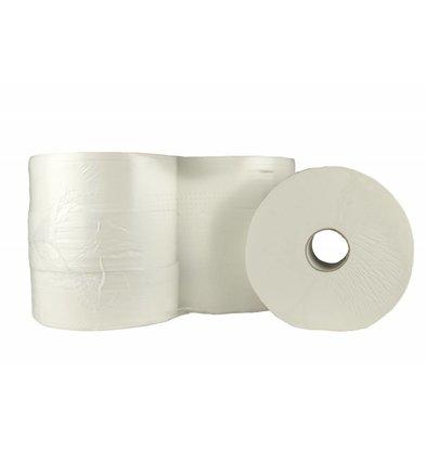 XXLselect WC Maxi Jumbo | Cellulose zweite Schicht | (auch Paletten) Preis pro 6 x 380 m | Umweltzeichen