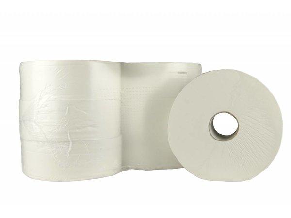 XXLselect Toiletpapier Maxi Jumbo | Cellulose 2 laags | (ook Pallets) Prijs per 6 x 380 meter | ECO-Label