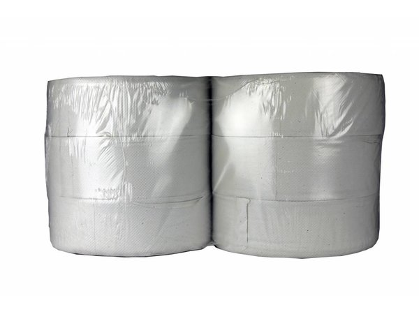 XXLselect Toiletpapier Maxi Jumbo | Recycled 2 laags | (ook Pallets) Prijs per 6 x 380 meter