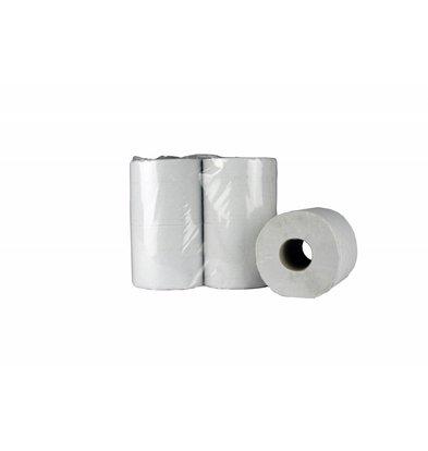 XXLselect Toiletpapier Recycled | 2 laags, 400 vel | (ook Pallets) Prijs per 40 Rollen