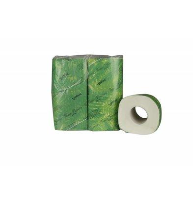 XXLselect Toilettenpapier mit Banderol Cellulose | 2-lagig, 180 Blatt | (auch Paletten) Preis pro 96 Rollen