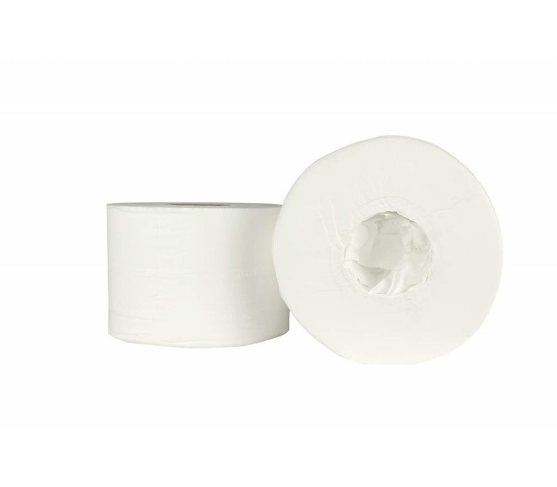 XXLselect Toilet without Kern | Coreless Jumbo | Cell layer 2, 200m x 13,4cm | (also Pallets) Price per 6 rolls