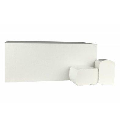 XXLselect Großpackung Toilettenpapier | Cellulose | 2-lagig, 11 x 18 cm | 40 x 225 Blätter in Box | (auch Paletten) Preis pro 40 Boxes