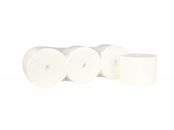XXLselect WC ohne Kern | Coreless Jumbo | Zelle 2-lagig, 900 Blatt | 112,5 Metern auf Rollen | (auch Paletten) Preis pro 36 Rollen