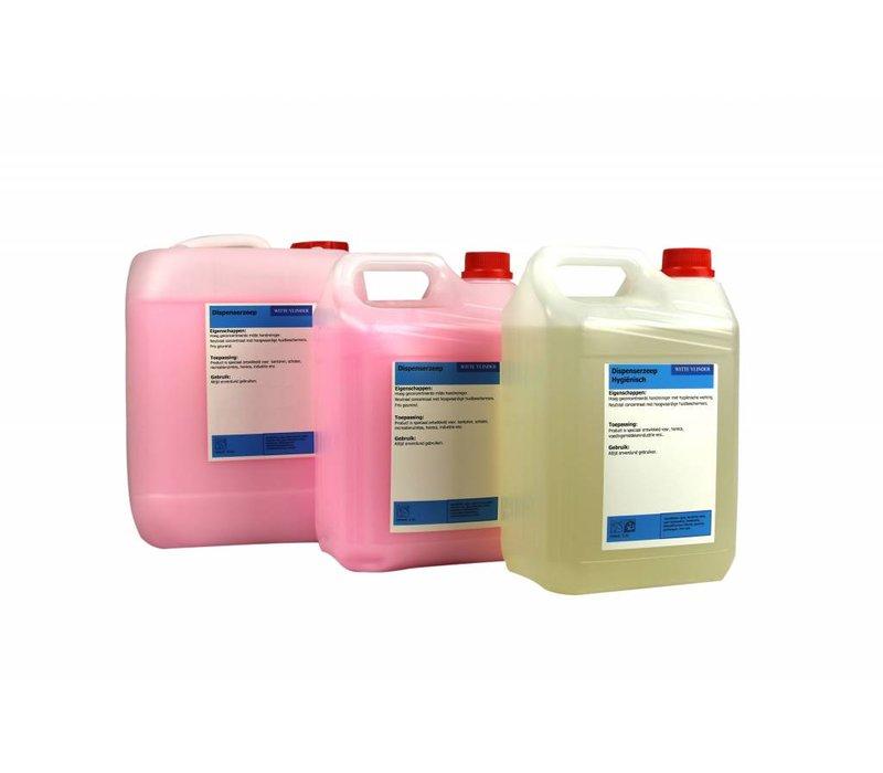 XXLselect Navulzeep 5 liter Antibacterieel | 4 x 5 liter | (ook Pallets) Prijs per 20 liter