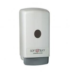 XXLselect Bag-in-Box Dispenser | White Plastic | 800 ml - Price per 12 Pieces