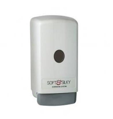 XXLselect Bag-in-box Dispenser | Wit Kunststof | 800 ml - Prijs per 12 Stuks