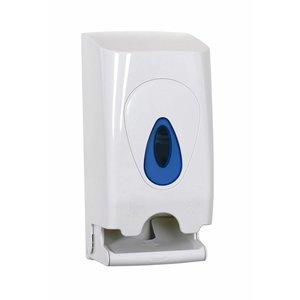 XXLselect Duo Toilet Roll / Dispenser   White plastic