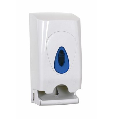 XXLselect Duo Toiletrolhouder / Dispenser | Kunststof Wit