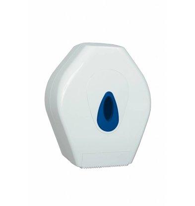 XXLselect Mini Jumbo Papierspender | Kunststoff Weiß