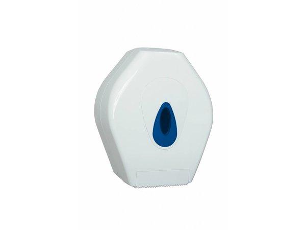 XXLselect Mini Jumbo Paper Dispenser | plastic White
