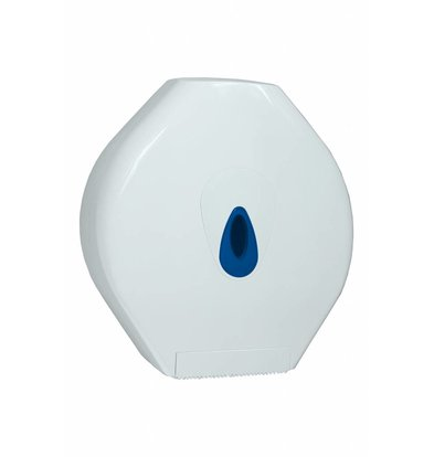 XXLselect Maxi Jumbo Paper Dispenser | White plastic