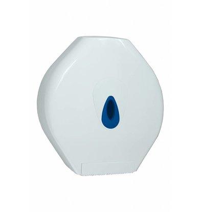 XXLselect Maxi Jumbo Papier Dispenser | Kunststof Wit