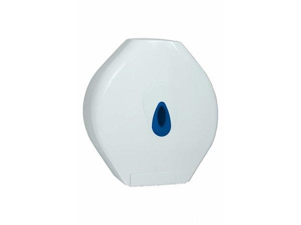 XXLselect Maxi Jumbo Papier Dispenser   Kunststof Wit