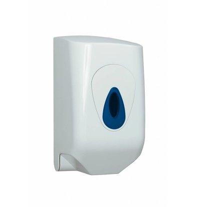 XXLselect Handdoekroldispenser Mini | Wit Kunststof