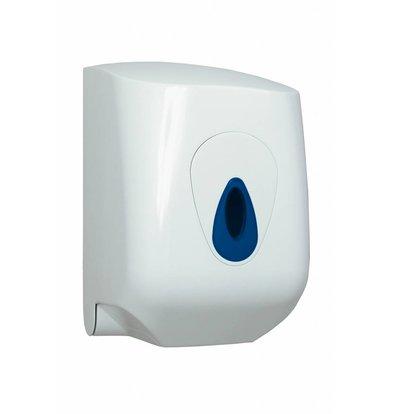 XXLselect Handtuchspender Midi | weiß Kunststoff