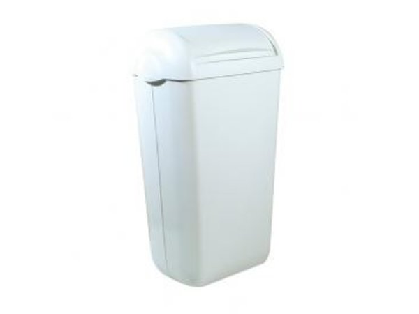 XXLselect Ladies Dressing Container | White Plastic | Standing / Wall mounting