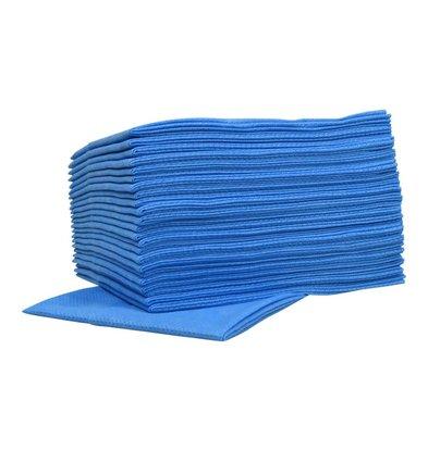XXLselect Non-woven Sopdoeken Food | Blauw | 45 x 50cm | 10 x 25 stuks in doos | (ook Pallets) Prijs per 250 Doeken