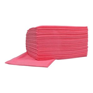 XXLselect Non-woven Sopdoeken Food | Roze | 45 x 50cm | 10 x 25 stuks in doos | (ook Pallets) Prijs per 250 Doeken