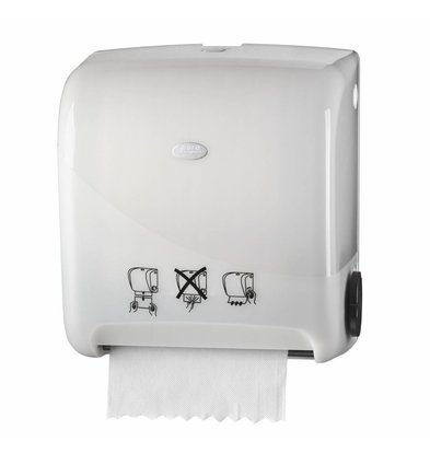 XXLselect Automatic towel Matic | white Plastic