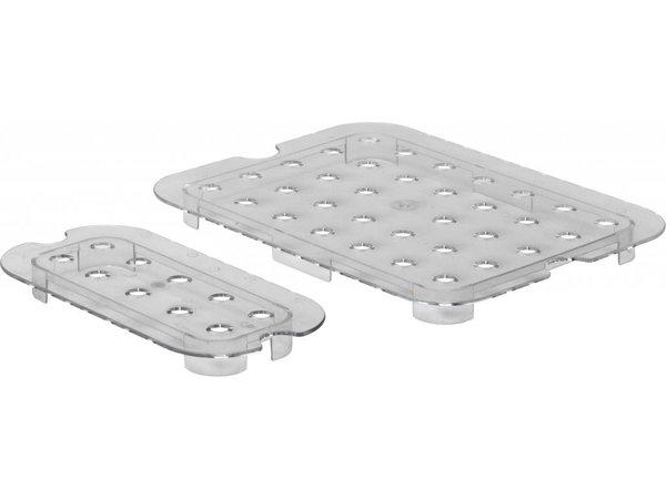 Hendi Polycarbonate Gastronorm drip grid - Transparent - GN 1/3 - 325x176 mm