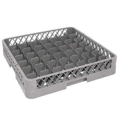 XXLselect Glass baskets | 50x50cm | 49 compartments