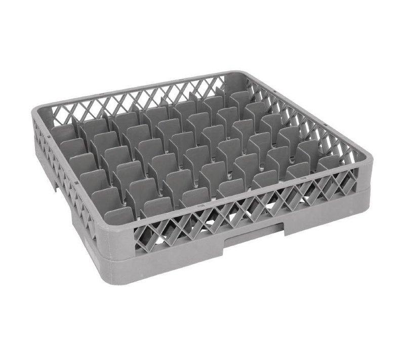 XXLselect Glass baskets   50x50cm   49 compartments
