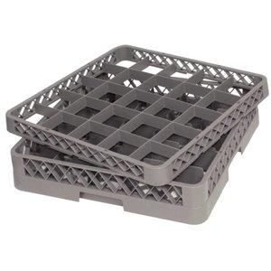 XXLselect Glass baskets | 50x50cm | 25 compartments