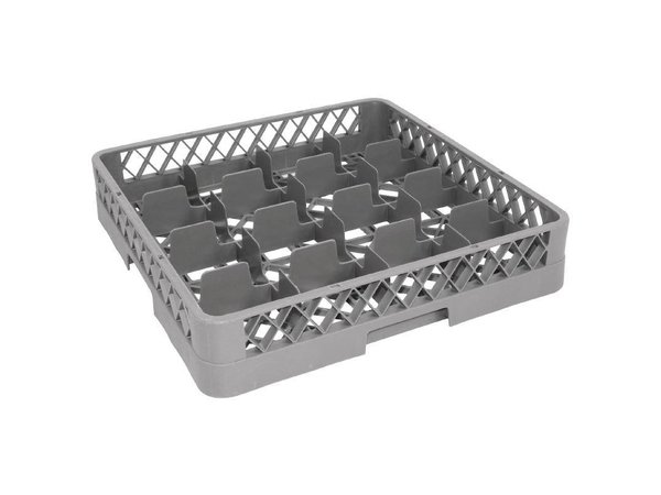 XXLselect Glass baskets | 50x50cm | 16 compartments