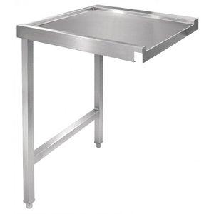 XXLselect RVS Aanvoertafel voor GAGL896