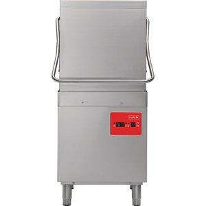 XXLselect Doorschuifvaatwasser | 50x50cm | 63x71x(h)140cm | 900 Borden per uur | 400V