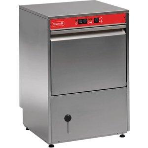 XXLselect Glazenspoelmachine Gastro-M | 40x40cm | 2 Wascycli | Naglansdoseerder | 230V