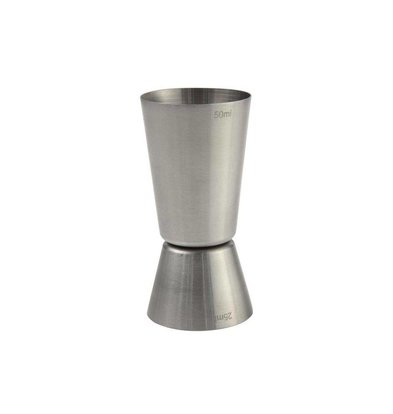 Hendi Barmaatje Stainless Steel Measuring Cup - 2.5 and 5 cl