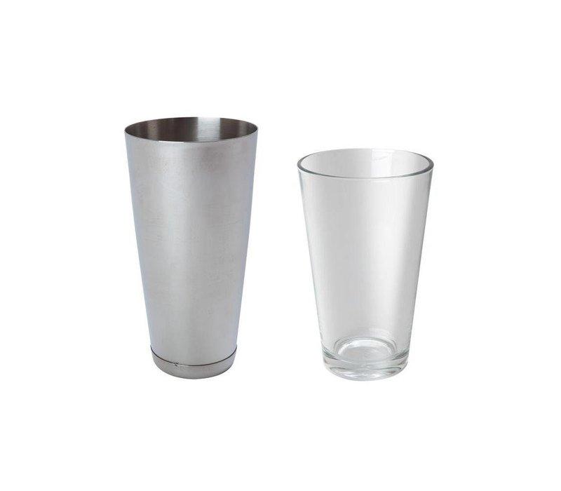 Hendi Cocktail Cup aus Edelstahl - 800 ml
