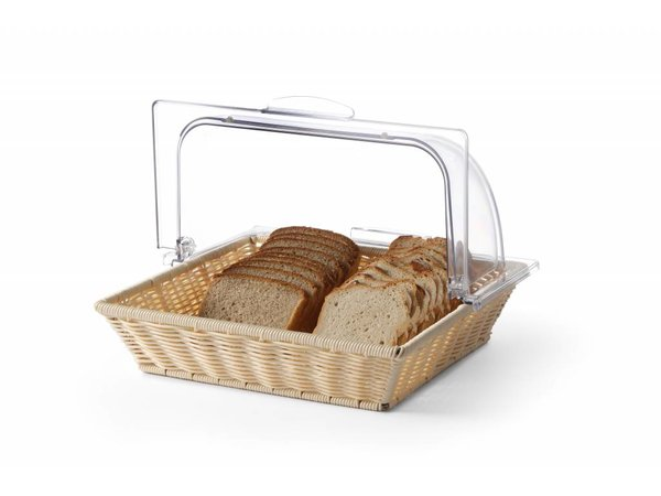 Hendi Bread Basket with PC roltopdeksel - GN 2/3 - 325x354mm