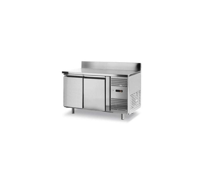 Hendi Vrieswerkbank - 2 Deurs - Machine Rechts - 1360x700x(h)850mm