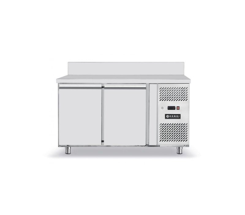 Hendi Kühle Workbench - 2 Türen - Maschinen Rechts - 1360x700x (H) 850mm