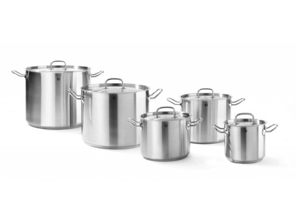 Hendi Casserole / Stockpot Stainless Steel High Model - 2.8 Litre - CHOICE OF 5 SIZES