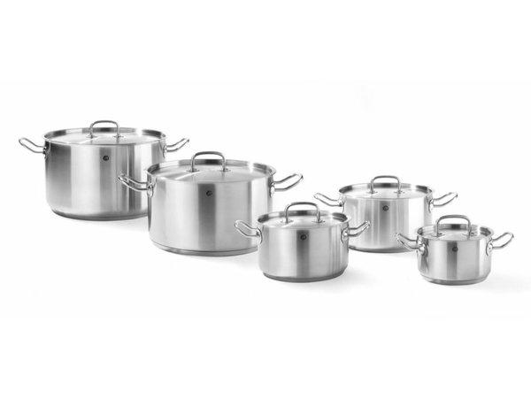 Hendi Casserole / Stockpot stainless Resource Model - 1.7 Litre - CHOICE OF 5 SIZES