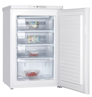 Exquisit Tischgefrierkombination - 4 Laden - 85Liter - 55x58x (h) 85cm