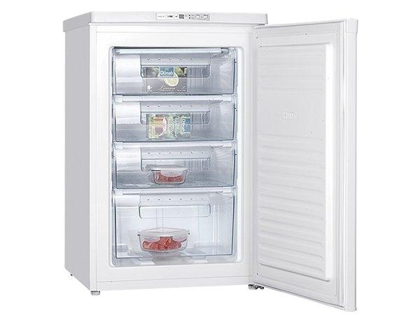 XXLselect Tabletop freezer - 4 Laden - 85 Liter - 55x58x (h) 85cm
