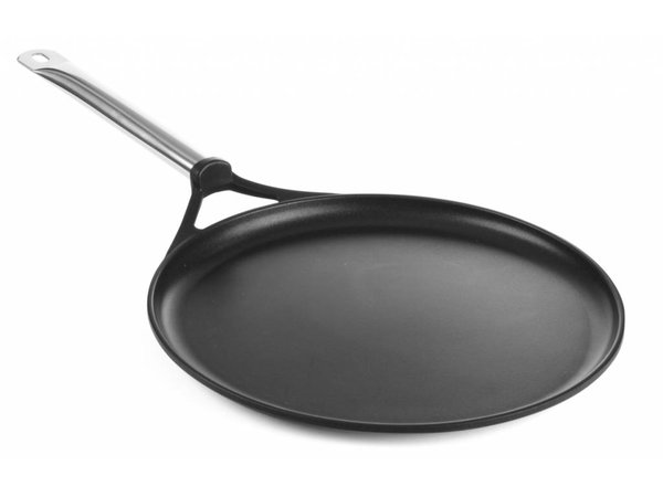 Hendi Crepespan cast aluminum 320x30   with stainless steel handle