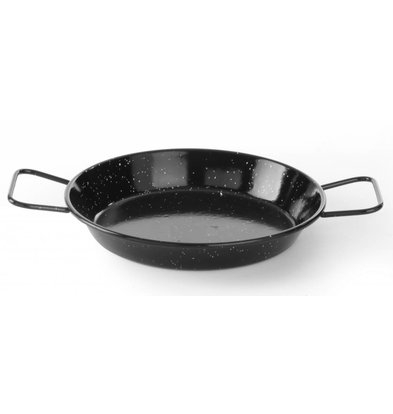 Hendi Paella pan enamelled 20cm
